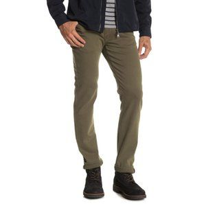 DL1961 Nick Slim Frontier Army Green Jeans 32x34